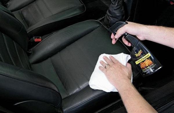 khử mùi da xe hơi