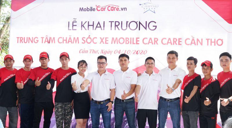 Nhượng quyền thương hiệu Mobile Car Care Vietnam