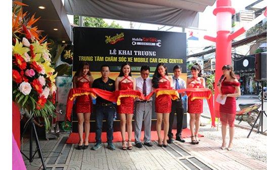Kinhtenongthon.com.vn - Mobile Car Care khai trương trung tâm chăm sóc xe nhượng quyền đầu tiên tại TP. Hồ Chí Minh