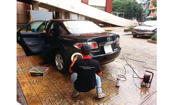 SGTT - Ngồi nhà gọi dịch vụ sửa xe