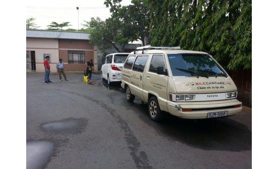 Dailo.vn - Dịch vụ chăm sóc ô tô tại nhà xuất hiện tại Tp. HCM