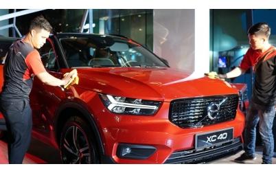 Mobile Car Care chăm sóc xe tại chương trình Volvo Mobile Showroom 2019