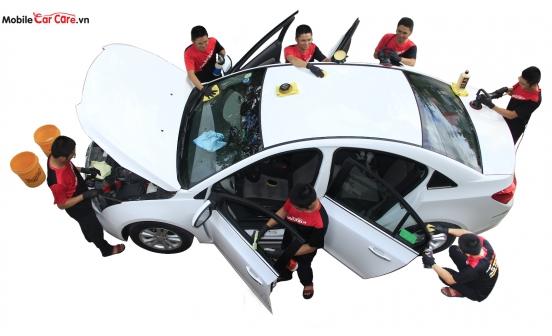Sự phát triển vượt bậc của ngành chăm sóc xe ô tô.