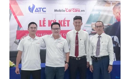 Lễ ký kết liên kết đào tạo Mobile Car Care VN & VATC